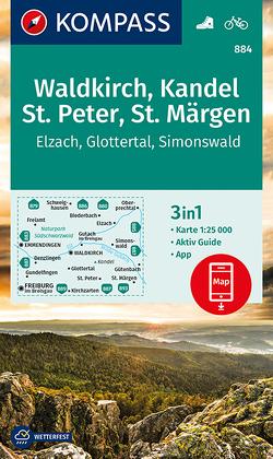 Waldkirch, Kandel, St.Peter, St. Märgen von KOMPASS-Karten GmbH