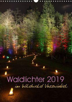 Waldlichter im Wildwald Vosswinkel 2019 (Wandkalender 2019 DIN A3 hoch) von Lieder,  Britta