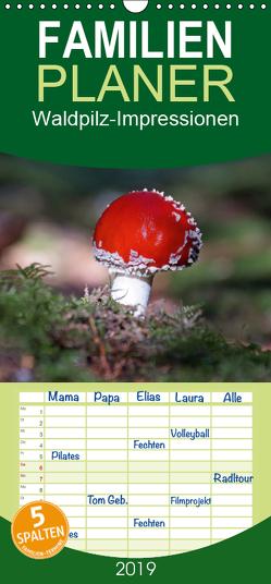 Waldpilz-Impressionen – Familienplaner hoch (Wandkalender 2019 , 21 cm x 45 cm, hoch) von Flori0