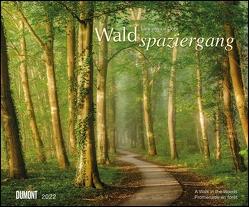 Waldspaziergang 2022 – Fotokunst-Kalender – Querformat 58,4 x 48,5 cm – Spiralbindung von Goor,  Lars van de