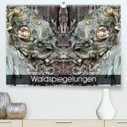 Waldspiegelungen (Premium, hochwertiger DIN A2 Wandkalender 2020, Kunstdruck in Hochglanz) von Schlüfter,  Elken