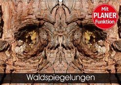 Waldspiegelungen (Wandkalender 2018 DIN A2 quer) von Schlüfter,  Elken