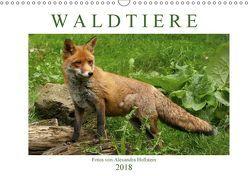 Waldtiere (Wandkalender 2018 DIN A3 quer) von Hollstein,  Alexandra