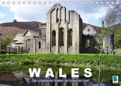 Wales – der unbekannte Westen der britischen Insel (Tischkalender 2018 DIN A5 quer) von CALVENDO,  k.A.