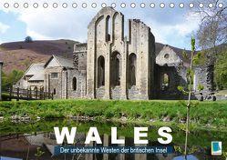 Wales – der unbekannte Westen der britischen Insel (Tischkalender 2019 DIN A5 quer) von CALVENDO