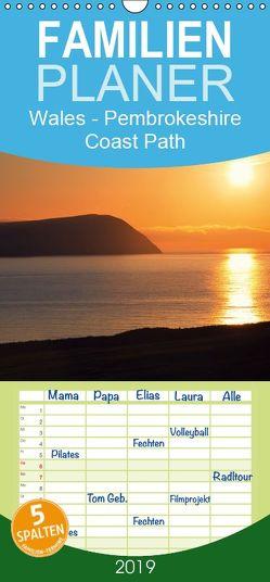 Wales – Pembrokeshire Coast Path – Familienplaner hoch (Wandkalender 2019 , 21 cm x 45 cm, hoch) von Petra Voß,  ppicture-