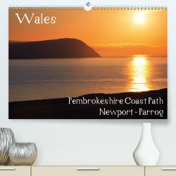 Wales – Pembrokeshire Coast Path (Premium, hochwertiger DIN A2 Wandkalender 2021, Kunstdruck in Hochglanz) von Petra Voß,  ppicture-