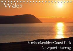 Wales – Pembrokeshire Coast Path (Tischkalender 2019 DIN A5 quer) von Petra Voß,  ppicture-