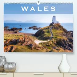Wales (Premium, hochwertiger DIN A2 Wandkalender 2021, Kunstdruck in Hochglanz) von Kruse,  Joana