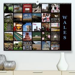 Wales (Premium, hochwertiger DIN A2 Wandkalender 2021, Kunstdruck in Hochglanz) von Neurohr,  Heinz