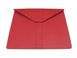 Wall Street | Echtledertasche für Tablets | Rosso