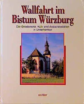 Wallfahrt im Bistum Würzburg von Brückner,  Wolfgang, Schneider,  Wolfgang