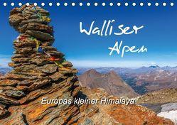 Walliser Alpen – Europas »kleiner« HimalayaCH-Version (Tischkalender 2019 DIN A5 quer) von und Brigitte (Gratz-)Prittwitz,  Michael