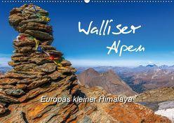 Walliser Alpen – Europas »kleiner« HimalayaCH-Version (Wandkalender 2019 DIN A2 quer) von und Brigitte (Gratz-)Prittwitz,  Michael