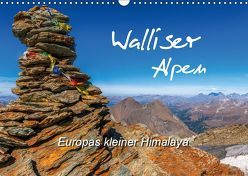Walliser Alpen – Europas »kleiner« HimalayaCH-Version (Wandkalender 2019 DIN A3 quer) von und Brigitte (Gratz-)Prittwitz,  Michael