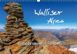 Walliser Alpen – Europas »kleiner« HimalayaCH-Version (Wandkalender 2020 DIN A3 quer) von und Brigitte (Gratz-)Prittwitz,  Michael