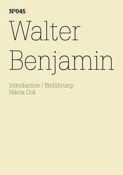 Walter Benjamin von Benjamin,  Walter, Doll,  Nikola
