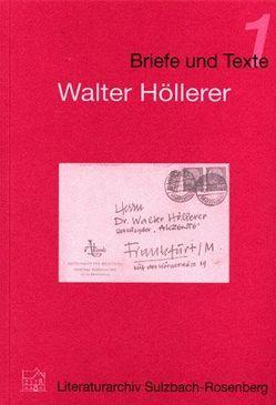 Walter Höllerer von Baumann-Eisenack,  Barbara