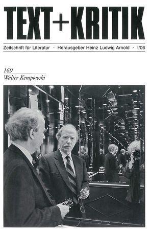 Walter Kempowski von Arnold,  Heinz Ludwig