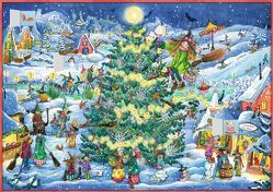 Wand-Adventskalender – Winterzauber im Hexendorf von Livanios,  Eleni