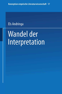 Wandel der Interpretation von Andringa,  Els
