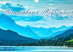 Wanderbarer Weißensee (Wandkalender 2021 DIN A4 quer) von Braun,  Werner