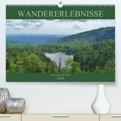 Wandererlebnisse im Bayrischen Wald (Premium, hochwertiger DIN A2 Wandkalender 2020, Kunstdruck in Hochglanz) von Janke,  Andrea