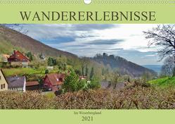 Wandererlebnisse im Weserbergland (Wandkalender 2021 DIN A3 quer) von Janke,  Andrea