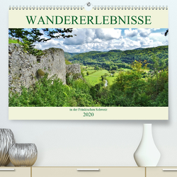 Wandererlebnisse in der Fränkischen Schweiz (Premium, hochwertiger DIN A2 Wandkalender 2020, Kunstdruck in Hochglanz) von Janke,  Andrea