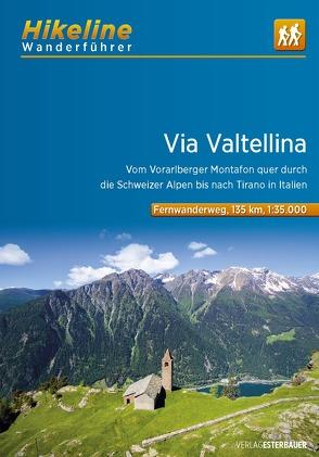 Wanderführer Via Valtellina von Esterbauer Verlag
