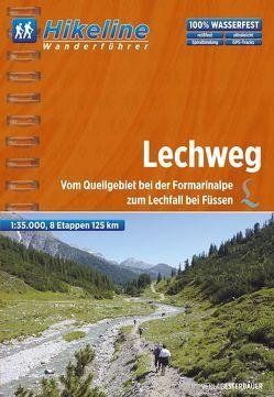 Wanderführer Lechweg von Esterbauer Verlag