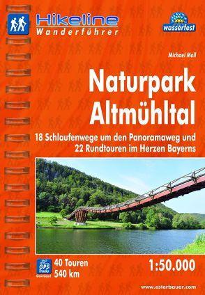Wanderführer Naturpark Altmühltal von Esterbauer Verlag