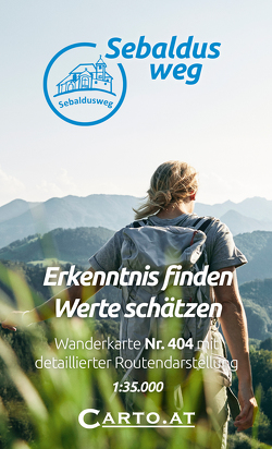 Wanderkarte 404 Sebaldusweg