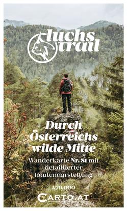 Wanderkarte 81 Luchs Trail