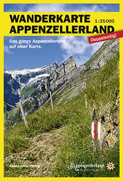 Wanderkarte Appenzellerland von VAW