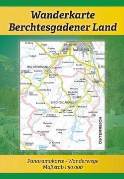 "Wanderkarte ""Berchtesgadener Land"" von Plenk,  Anton"