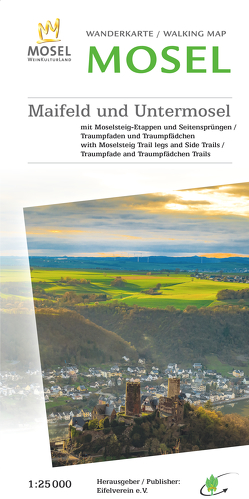 Wanderkarte Maifeld-Untermosel