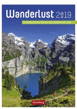 Wanderlust – Kalender 2019 von Harenberg, Pollmann,  Bernhard