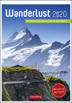 Wanderlust Kalender 2020 von Harenberg, Pollmann,  Bernhard