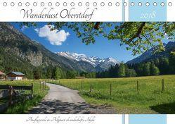 Wanderlust Oberstdorf 2018 (Tischkalender 2018 DIN A5 quer) von SusaZoom,  k.A.