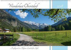Wanderlust Oberstdorf 2018 (Wandkalender 2018 DIN A2 quer) von SusaZoom,  k.A.