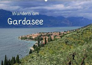 Wandern am Gardasee (Wandkalender 2018 DIN A2 quer) von Braunleder,  Gisela