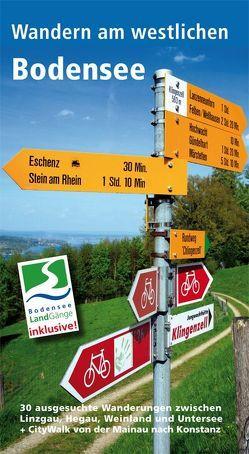 Wandern am westlichen Bodensee von Bichler,  Thomas