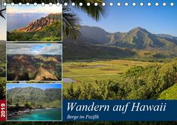 Wandern auf Hawaii – Berge im Pazifik (Tischkalender 2019 DIN A5 quer) von Krauss,  Florian