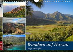Wandern auf Hawaii – Berge im Pazifik (Wandkalender 2019 DIN A4 quer) von Krauss,  Florian