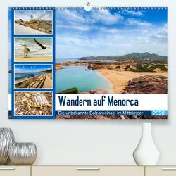 Wandern auf Menorca (Premium, hochwertiger DIN A2 Wandkalender 2020, Kunstdruck in Hochglanz) von Reuke,  Sabine
