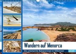 Wandern auf Menorca (Wandkalender 2020 DIN A3 quer) von Reuke,  Sabine