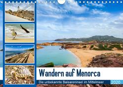 Wandern auf Menorca (Wandkalender 2020 DIN A4 quer) von Reuke,  Sabine