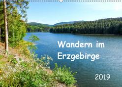 Wandern im Erzgebirge (Wandkalender 2019 DIN A2 quer) von Vogel,  Carmen