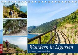 Wandern in Ligurien (Tischkalender 2020 DIN A5 quer) von Prediger,  Klaus, Prediger,  Rosemarie